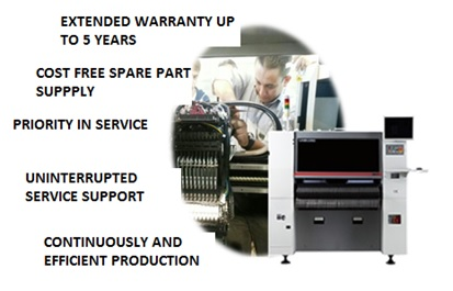 Labor and / or Space Parts Included Extended Warranty Service